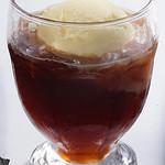 雑魚屋 - 紅茶ゼリーフロート