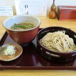 くりばやし - 料理写真:鴨せいろ(1,500円)