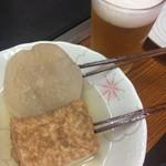 よし子 - 料理写真:おでん〜、&サッポロ