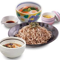 雑魚屋 - ミニ海鮮丼とつけそば膳