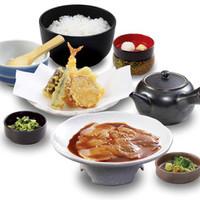 雑魚屋 - 鯛茶と天ぷらの御膳