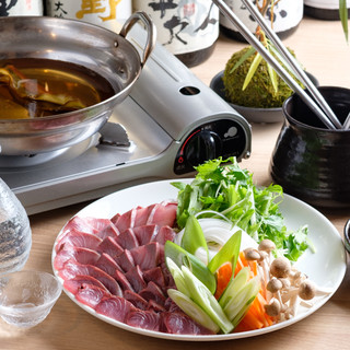 【プチ贅沢鍋】イチオシ『天然鰤しゃぶ鍋』『広島牡蠣鍋』
