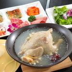 手作り参鶏湯ハーフコース (夏季のみ 要予約 2日前まで)
