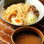札幌 炎神 - 炎の味噌つけ麺