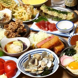 3名様~食べ飲み放題3h2778円(税抜)