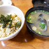はまぐり - 料理写真:貝めしと貝汁