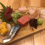 板に鯛 - 料理写真: