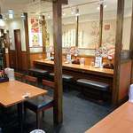大阪王将 - 大阪王将 西葛西店 カウンター席もある2階席