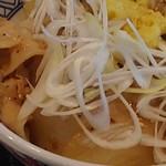 吉野家 - ネギ塩ぶた丼 すりおろし生姜付き