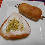 篠ノめ - シナモン と ゴボウのパン♡