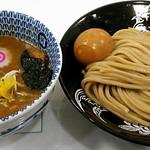 中華蕎麦 とみ田 - 【濃厚つけ麺 並 + 半熟味玉子】¥880 + ¥100