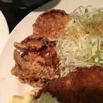グリル ロン - 鶏唐揚(´∀`)大台突破もつけたい 美味しい