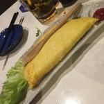 隠れ 昭和酒場 てげてげ - てげてげオムレツ 明太チーズ
