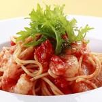 ☆ シーフードトマトスパゲッティ