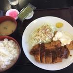 あなたの街の定食屋さん - チキ南定食(800円)