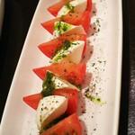 ひづき - モツァレラチーズとトマト