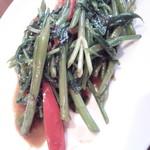 67809736 - 空芯菜の炒め物