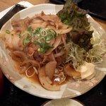 普通の食堂いわま - 生姜焼き