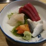 みつわ寿司 - 料理写真:刺身の図