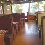 Kagonoya - ボックステーブル席