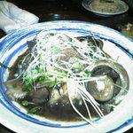 海鮮居食屋 活 - マグロの目玉煮