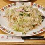 銀座 吉宗 - 皿うどん細麺(並盛)960円