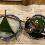 韻松亭 - 麩饅頭&抹茶プリン
