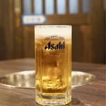 たじま屋 - 生ビール