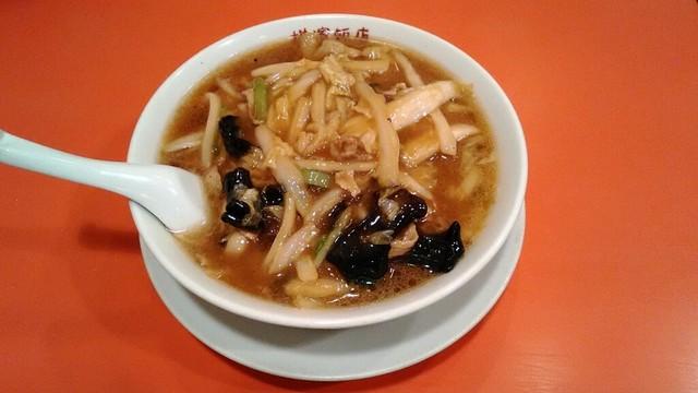 横浜飯店 - 肉ソバ 785円