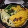 dieci10 - 料理写真:アスパラとトウモロコシの窯焼き