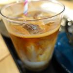 RHC CAFE - アーモンドミルクラテ