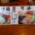 トラの夢 - 2017/5/22 つけ麺