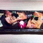 隠れ家個室居酒屋 和歌葉 銀座本店 - 金目鯛のアーモンド味噌焼き(メニュー外)