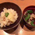 和味 大輔 - 筍の炊き込みご飯