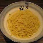 麺屋 利休 - 麺屋 利休:つけ麺(中盛り、あつもり)