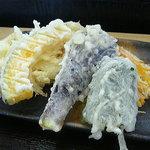 麺工房かたくり - 2011年2月 天ぷら