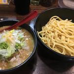 麺処 花田 - 味噌つけ麺(890円)