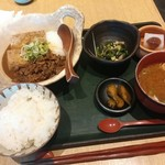 "67821671 - ""吟醸出汁""の肉豆腐膳【2017.5】"