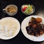 手作り洋食の店 ぱ・らんて - 牛カツレツ  ¥950+税