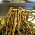 焼きそばバル飯島屋 - 自家製麺は期待通りの美味しさ