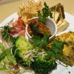 YAICHIRO - 前菜盛り合わせ6種