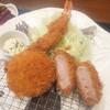とんかつ 菊万 - 料理写真:エビフライ・カツ・コロッケ
