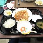 67825176 - 餃子10個定食(980円)