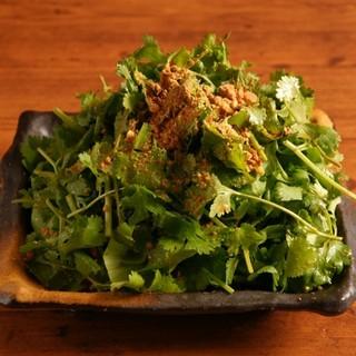 悪魔的に旨い香菜(パクチー)サラダ