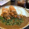 CoCo壱番屋 - 料理写真:ササミカツカレー ほうれん草