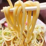 明月 - もちもちの自家製麺(^^)