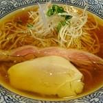 ラーメン燈郎 - 川俣シャモの醤油ラーメン 800円