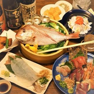 漁港直送の厳選素材を活かした和食がおすすめ!