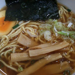 朱鶏麺 - ぴり辛中華そば