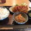 いよや食堂 - 料理写真:チキンカツ定食 650yen